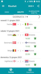 Risultati per Europei 2020 / 2021 for Android - APK Download
