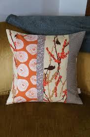 Best 25+ Quilt pillow case ideas on Pinterest | Sewing pillow ... & contemporary quilt pillow case 20x20 orange birds by HAWThome, $32.00 Adamdwight.com
