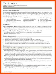 Public Health Resume Objective 100100 mental health resume objective examples formatmemo 63