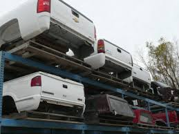 Used truck beds and caps for sale at Waukesha auto salvage yard ...