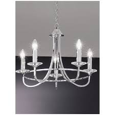 fl2146 5 carousel 5 light chrome chandelier