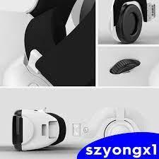 Kính Thực Tế Ảo Vr 3d Kèm Tai Nghe Cho Iphone