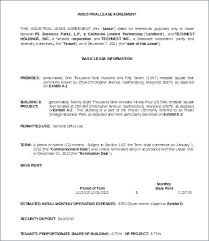 Apartment Lease Agreement Template Rental Contract Free