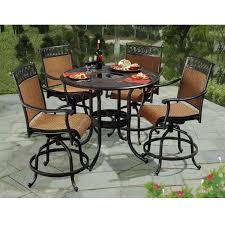 high patio dining set. incredible high patio dining sets sunjoy seabrook 5 piece set l dn899sal a