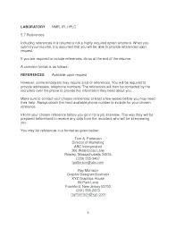 Resume Personal References Page Should A Have In Available On