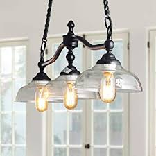 Glass - Black / Chandeliers / Ceiling Lights: Tools ... - Amazon.com