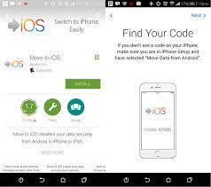 move to ios app android
