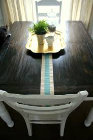 Refinish Kitchen Table Top Refinishing The Dining Room Table Shannon Claire