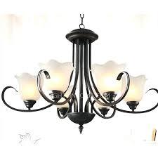 modern black chandeliers modern black circle reception