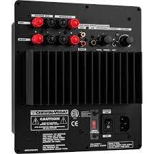 Cerwin-Vega V-10S 200 Watt Subwoofer Plate Amplifier