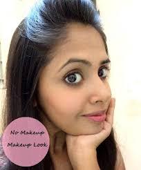 no makeup look brown skin