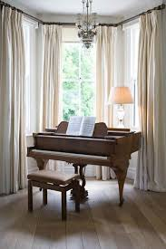 bay window curtain ideas lovely captivating on interior and ...