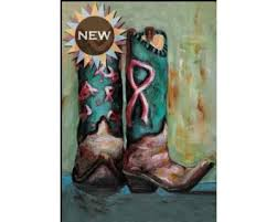 cowgirl boots garden flag