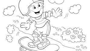 skateboard coloring pages for kids page remarkable logo skateboarding free printable designs girl c