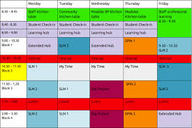 Class Timetable Template Mesmerizing School Time Table Format In Excel Free Download Timetable