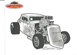Small Picture Hot Rod Car Coloring Pages Colorinenet 10044 kids ideas