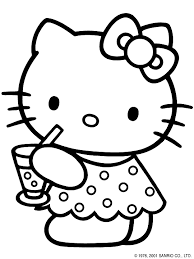 Small Picture Lots of Free Printable Hello Kitty Coloring Sheets coloring