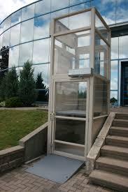 Standard Porch Lifts  Vertical Platform Lifts - Exterior wheelchair lifts