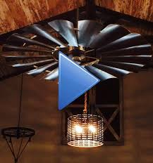 windmill ceiling fan with light. Video-image-1 Windmill Ceiling Fan With Light
