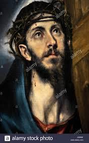 el greco 1541 1614 cretan painter christ with the cross