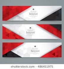 black and red and white background design. Interesting Design White Red And Black Abstract Background Banner Collection Banner Design Intended Black And Red White Background Design N