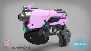 Dva Light Gun Artstation D Va Light Gun Spys3d