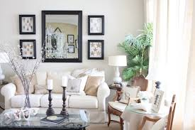 beautiful beige living room grey sofa. Beautiful Ideas Soft And Elegant Beige Living Rooms White Painted Wall Mirror Table Lamp End Room Grey Sofa O