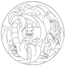 Mandala Kleurplaten Dieren