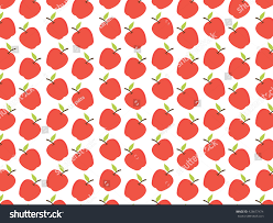 Apple Pattern Gorgeous Apple Background Pattern Stock Vector Royalty Free 48