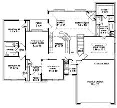 one story 3 bedroom modern house plans new 5 bedroom open floor plans single story house