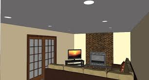 placing recessed lighting in living room. do you think this is enough light? the room has only sliding doors in photo which go onto a screened porch, so there very little natural light placing recessed lighting living g
