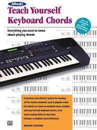 Alfreds Teach Yourself Keyboard Chords