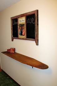 Best Ironing Board Design Shelf Is An Old Wooden Ironing Board Upcycle Recycle