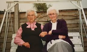 Ada Peters and Beatrice Smith | Families, Family, Female, Private gardens,  Recreational | Haddenham & Aldreth