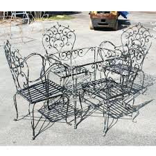 outdoor wrought iron furniture. Wrought Iron Outdoor Chairs Vintage Table And Sofa Metal Garden . Furniture N