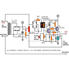 how to build a simple circuit breaker unit electronic circuit breaker circuit diagram image