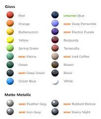Color Charts Swingsetmall Com