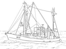 Small Picture Fishing Boat coloring page Free Printable Coloring Pages