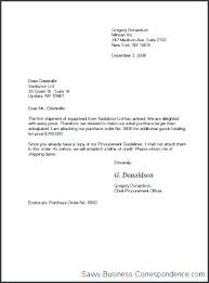 How To Write Business Letter Format A Sample Letters In The Writing