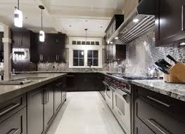 Rectangular Kitchen Cabinets Storages Dark Modern Kitchen Cabinets White Stylish