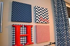 fabric canvas wall art diy