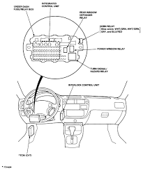 circuit breaker located for windows on 1996 honda civic lx ask your own honda question