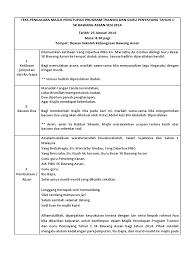 Teks pengacara majlis perhimpunan rasmi mingguan nota : Teks Pengacara Majlis Minggu Transisi Tahun 1