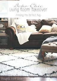 what color rug goes with a brown couch rug for brown couch chic living room makeover