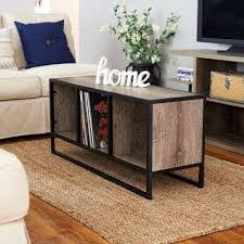 home essentials furniture. Ashwood Light Wood And Black Open Cubby Coffee Table Home Essentials Furniture