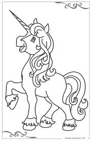 Unicorno Disegni Per Bambini Piccoli Da Colorare