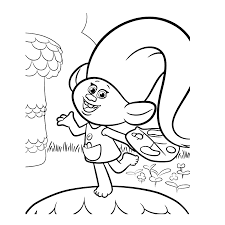 Trolls For Children Trolls Kids Coloring Pages