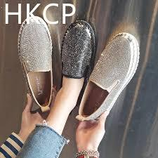 <b>HKCP</b> 2019 new thick soled platform <b>shoes</b> for <b>women</b> loafers, half ...