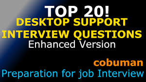 top desktop support interview questions and answers enhanced top 20 desktop support interview questions and answers enhanced edition pc