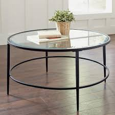 coffee table round glass coffee table metal base glass coffee table sets